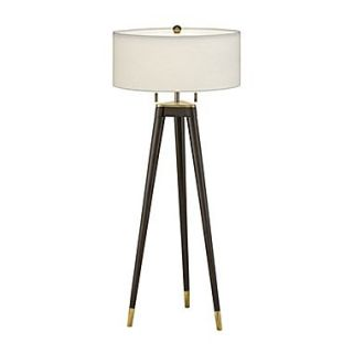 Remington Lamp 30 H Table Lamp with Drum Shade; Anna Cream Rolled Edge