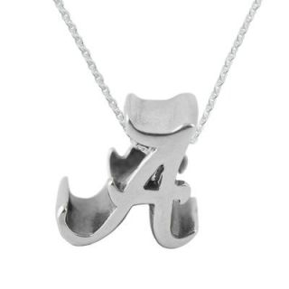 Alabama Crimson Tide Dayna Designs Womens Sterling Silver Cut Out Necklace