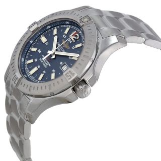 Breitling Colt Automatic Marine Blue Dial Stainless Steel Mens Watch