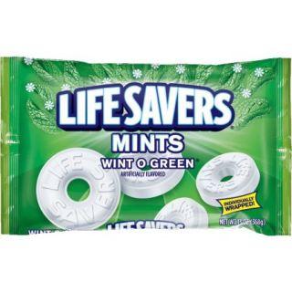 Lifesavers Wint O Green Mints Hard Candy Bag, 13 ounce