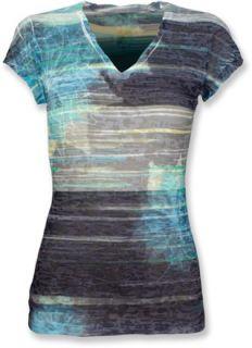 The North Face Tadasana Burn Out T Shirt   Womens