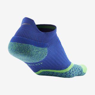 Nike Elite Cushioned No Show Tab Running Socks.