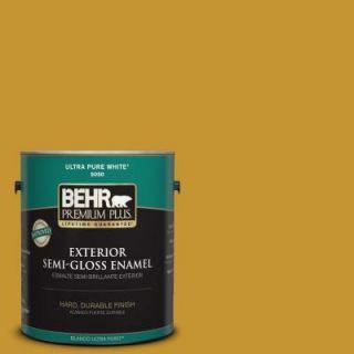BEHR Premium Plus 1 gal. #S H 360 Leisure Semi Gloss Enamel Exterior Paint 534001