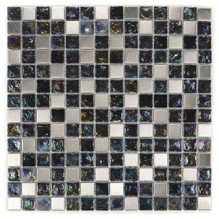 Metal Wave Glass Tiles E 311 (Case of 11)