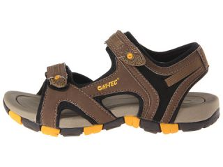 Hi Tec Kids GT Strap Jr (Toddler/Little Kid/Big Kid) Smokey Brown/Taupe/Gold