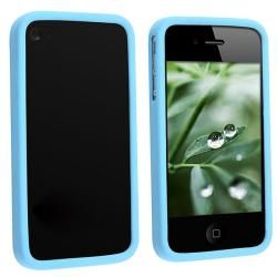 INSTEN TPU Rubber Candy Skin Transparent Bumper Frame Phone Case Cover