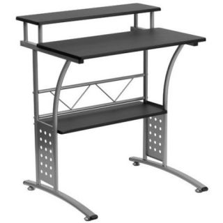 Flash Furniture Clifton Computer Desk with Shelf, Multiple Colors