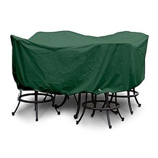 KoverRoos Weathermax  Large Bar Set Cover with Umbrella Hole; Forest Green