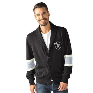 Officially Licensed NFL Rover Cotton Cardigan Sweater by Glll   Raiders   8071081