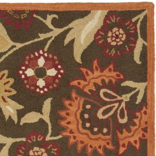 Blossom Brown Floral Area Rug by Safavieh