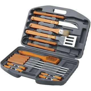 Chef's Basics Select 18pc BBQ Set in Blow Molded Case