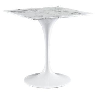 Eero Saarinen Style 48 inch Black Marble Top Tulip Dining Table