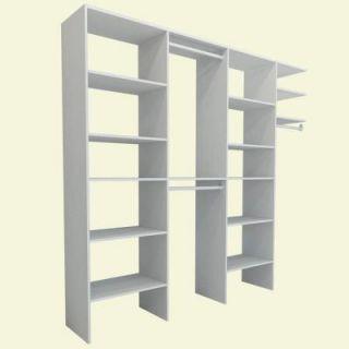 ClosetMaid Selectives 8 ft.   12 ft. White Entry Closet 17000