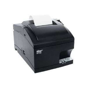 Star SP742ME   Receipt printer   two color (monochrome)   dot matrix   Roll (3 in)   16.9 cpi   9 pin   up to 4.7 lines/sec   LAN   cutter