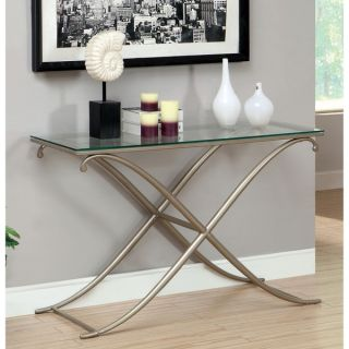 Furniture of America Visconti Contemporary Sofa Table