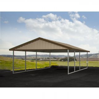 16 Ft. W x 20 Ft. D Car Port by Premium Canopy