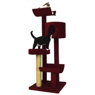 Molly and Friends 66 Condo, Bed and Cradles Cat Tree