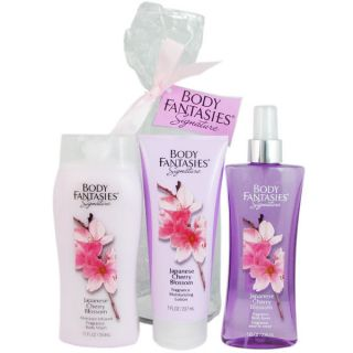 Body Fantasies Signature Japanese Cherry Blossom Womens 8 ounce Body