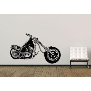 Bike Chopper Motorcycle Hog Sticker Vinyl Wall Art   17182473