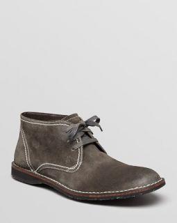 John Varvatos Star USA Hipster Suede Chukka Boots