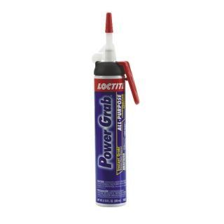 LOCTITE Power Grab 6.76 Oz. All Purpose Pressure Pack Dispenser White Construction Adhesive
