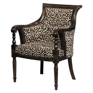 Lena Animal Print Barrel Back Chair   Shopping   Great Deals