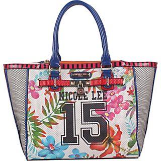 Nicole Lee Numeric 15 Print Tote Bag