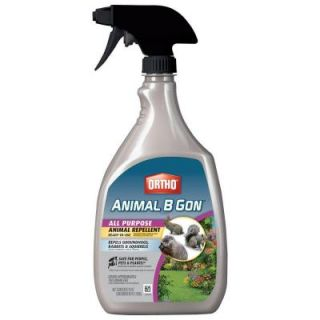 Ortho Animal B Gon 24 oz. Ready to Use All Purpose Animal Repellent 0489710