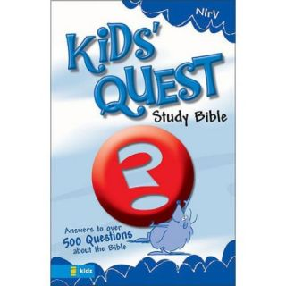 Kids Quest Study Bible: New International Readers Version, Real Questions, Real Answers
