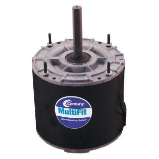 CENTURY 1/4 to 1/6 HP Condenser Fan Motor,Permanent Split Capacitor,1075 Nameplate RPM,208 230 Voltage,Frame   3RCR5 9723   Grainger
