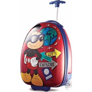 "American Tourister Disney Mickey Mouse 18"" Upright Hard Side Suitcase"