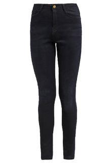 Dorothy Perkins HIGH WAIST BAILEY   Jeans Skinny Fit   blue