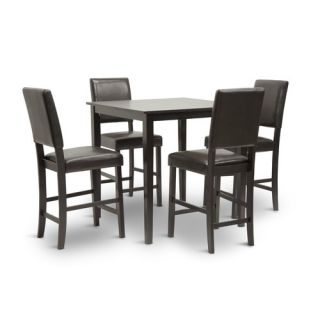Wholesale Interiors Love 5 Piece Counter Height Dining Set