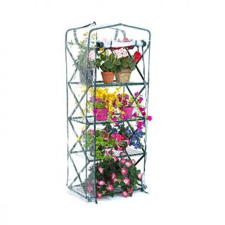 FlowerHouse X Up Plant Tower Lift and Lock Greenhouse   7347675