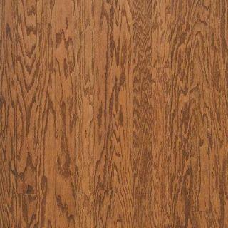 Bruce Town Hall Oak Gunstock Engineered Hardwood Flooring   5 in. x 7 in. Take Home Sample BR 667292