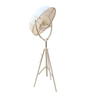 Pangea Home Mary 74.2 Tripod Floor Lamp; White