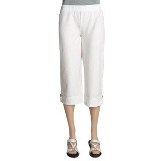 Neon Buddha Mantra Capri Pants (For Women) 2393T 37