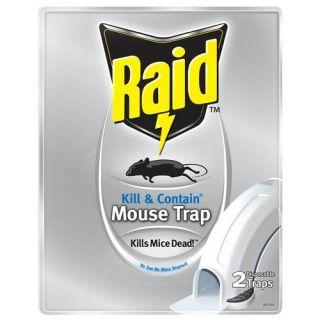Raid Kill & Contain Mouse Trap, 2 count