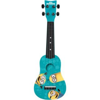 First Act Universal Minions Mini Guitar, Blue