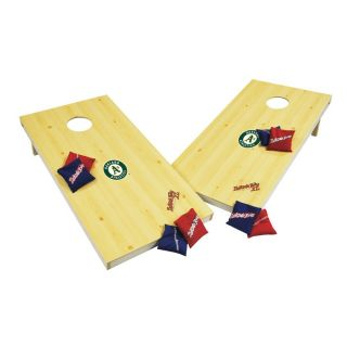 Wild Sports Oakland Athletics Outdoor Corn Hole Party Game