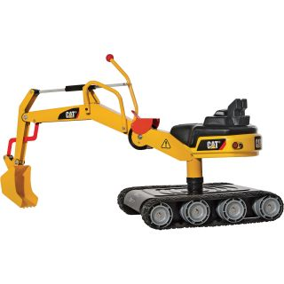 Kettler CAT Metal Digger with Treads, Model# 513215  Diggers   Ride Ons