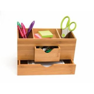 Lipper International 1803 Bamboo 3 Tier desk Organizer