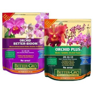 Better Gro 1 lb. Orchid Plant Food Combo Pack 50550