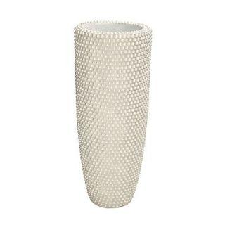 Woodland Imports Beautifully Angelic Polystone Pearl Vase; 37 H x 16 W x 16 D