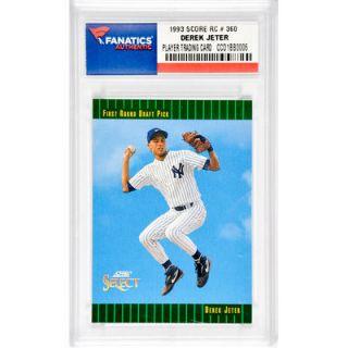 Derek Jeter New York Yankees 1993 Score Rookie #360 Card