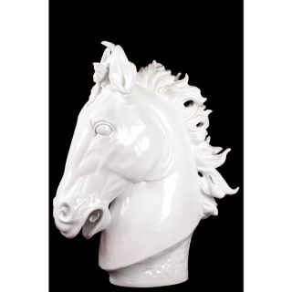 Afghanis Powerful Classy Resin Horse White   18733362