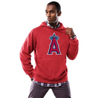 Los Angeles Angels of Anaheim Majestic Scoring Position Hoodie   Red