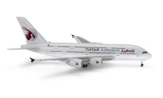 Herpa A380 800 Qatar Model Airplane