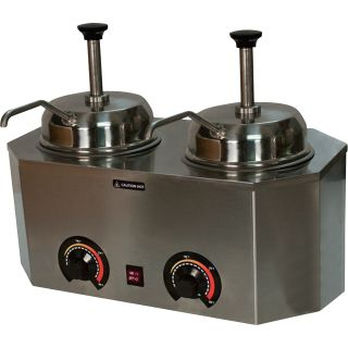 Paragon Pro Deluxe Dual Warmers with Pumps, Model# 2929A  Novelty