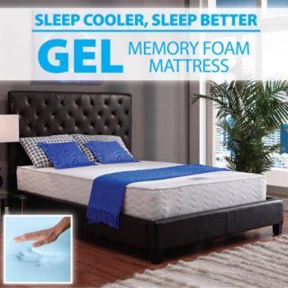 "Signature Sleep 10"" Hybrid RenewFoam Gel Memory Foam/Coil Mattress, Multiple Sizes"